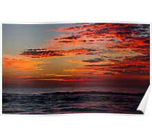 Sunrise at Surfers Paradise QLD Poster