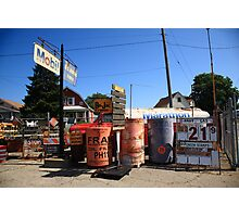 Route 66 Filling Station Photographic Print
