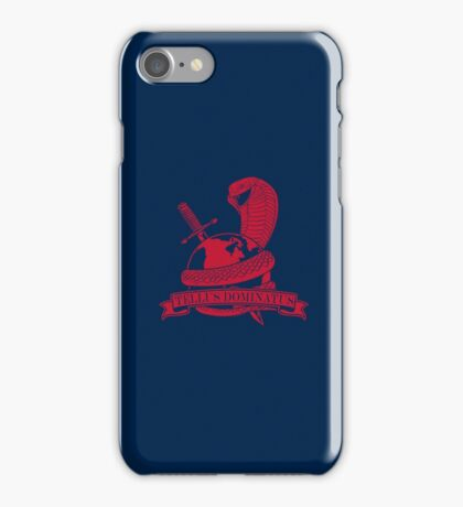 COBRA, GLOBE, AND DAGGER iphone case iPhone Case/Skin