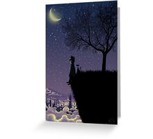 Captain Moonlight Greeting Card