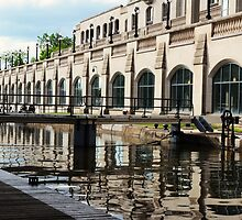 Rideau Canal ~ Ottawa Locks by Jeannine St-Amour