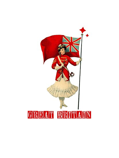 British Flag Lady by Zehda