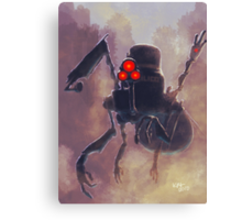 Robot/The Dystopian Canvas Print