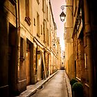 Alleyways of Paris, France by Elana Bailey