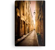 Alleyways of Paris, France Metal Print