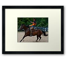 """""""Northern Ohio Outlaws"""" #26 Framed Print"""
