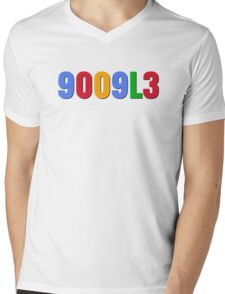 9009L3  Mens V-Neck T-Shirt
