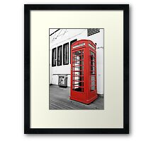 British Conversations Framed Print