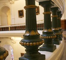 Texas Capitol Architecture  by jeffreynelsd