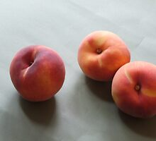 Three Peaches by celiapoon
