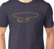 Enterprise D (Outline Halftone) Unisex T-Shirt