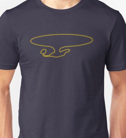 Enterprise D (Outline Halftone) Unisex T-Shirt