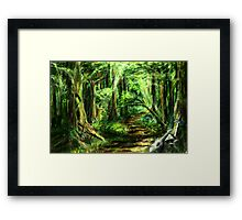 The Great Gaming Forest Framed Print