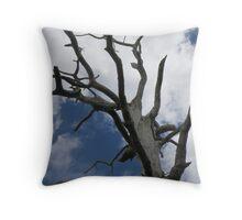 Petrified Tree Throw Pillow