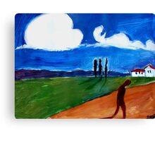 walked a ragged mile Canvas Print