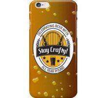 Stay Crafty iPhone Case/Skin