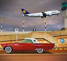 57' Ford Thunderbird II - Adelaide Airport, South Australia by Mark Richards