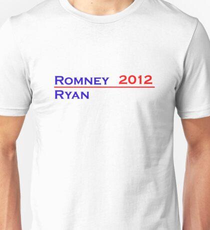 Romney-Ryan 2012 Shirt Unisex T-Shirt