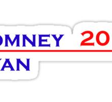 Romney-Ryan 2012 Shirt Sticker