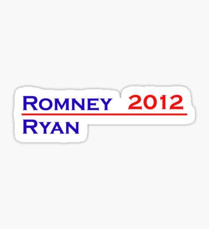 Romney-Ryan 2012 Shirt Sticker