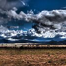 Storm over the You Yangs by Ian Creek