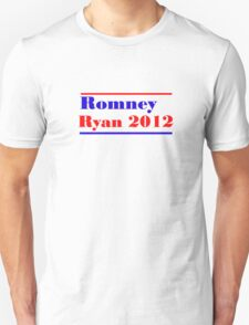 Mitt Romney/Paul Ryan Election Shirt Unisex T-Shirt