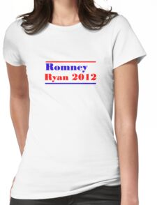 Mitt Romney/Paul Ryan Election Shirt Womens Fitted T-Shirt