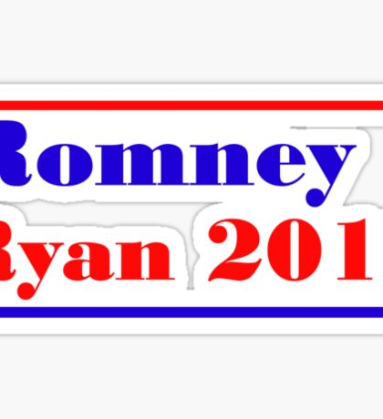 Mitt Romney/Paul Ryan Election Shirt Sticker