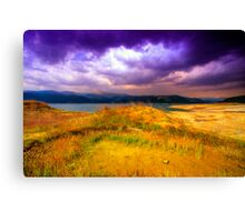 Painted Storm Canvas Print