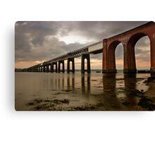 Tay Rail Bridge Canvas Print