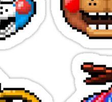 Five Nights at Freddy's 2 - Pixel art - Toy Animatronics sticker pack Sticker
