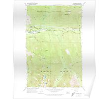 USGS Topo Map Washington State WA Skykomish 243763 1965 24000 Poster