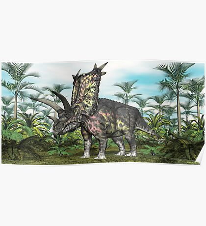 Pentaceratops Poster