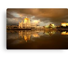 Royal Mosque in Brunei Canvas Print