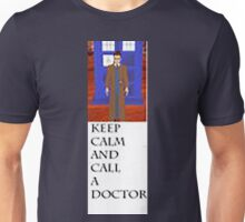 Keep Calm And Call The Doctor Unisex T-Shirt