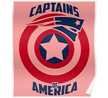 CAPTAINS OF AMERICA Poster