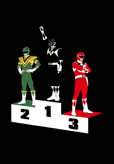 Black Ranger Power by Crocktees
