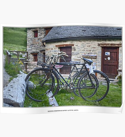 two bikes Poster
