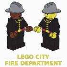 Fire Fighter Minifigs by Customize My Minifig  by ChilleeW