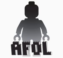 Silver Minifig with AFOL by Customize My Minifig  by ChilleeW
