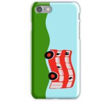 Double decker bus iPhone Case/Skin