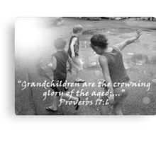 """""""Proverbs 17:6""""  by Carter L. Shepard Canvas Print"""