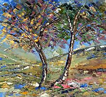 My dreamtrees.... by Elizabeth Kendall