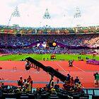 BEAUTIFUL OLYMPIC STADIUM by runda