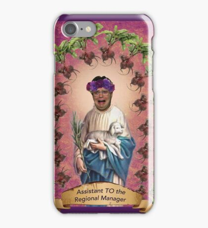 Assistant to* the regional manager iPhone Case/Skin