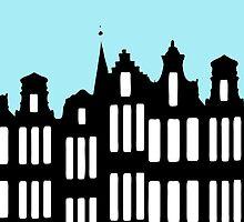 Aan de Amsterdamse grachten by funkyworm