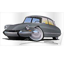 Citroen DS Grey Poster
