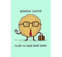 Business Cookie Photographic Print