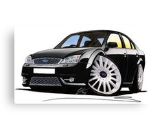 Ford Mondeo ST 220 Black Canvas Print