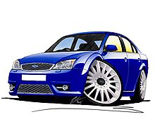 Ford Mondeo ST 220 Blue Photographic Print